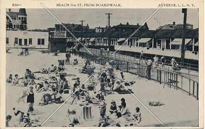 Beach 71 St and Boardwalk, Arverne