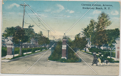 Clarence Ave (Bch 68 St)  Arverne