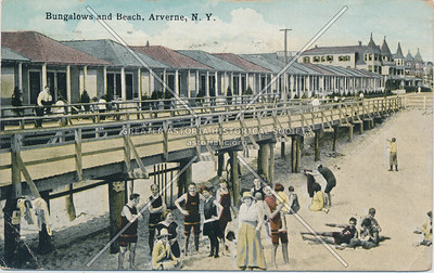 Beach and bungalows,  Arverne