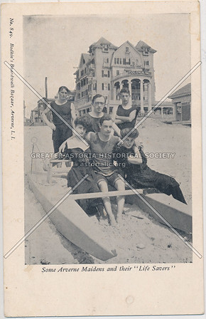 Bathing beauties and lifeguards, Arverne