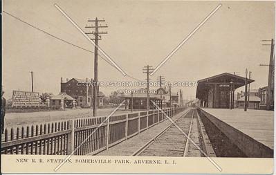 Somerville Park LIRR station, Arverne