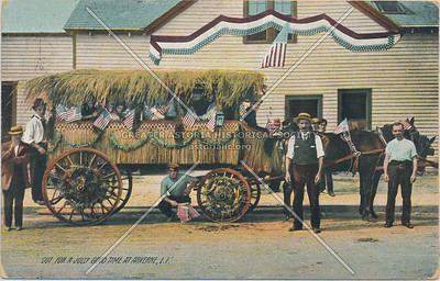 Hay wagon,  Arverne