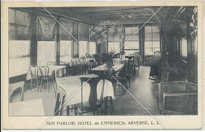 Sun Parlor, Hotel de Emmerich,  Arverne
