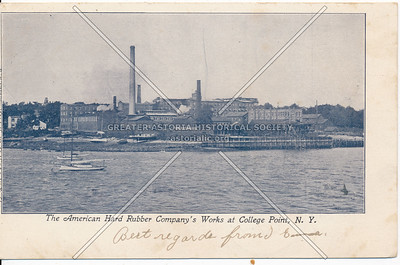 American Hard Rubber Company's Works at College Point, N.Y.