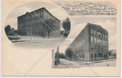 I.B. Kleinert Rubber Co., College Point, N.Y.