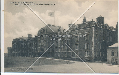 City Hospital, Blackwell's Island, NY.