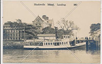 Blackwells Island, Landing.
