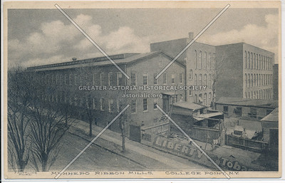 Myhnepo Ribbon Mills, College Point, N.Y.