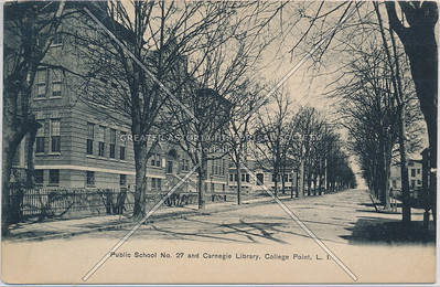 Public School No. 27 & Carnegie Library, College Point, L.I.
