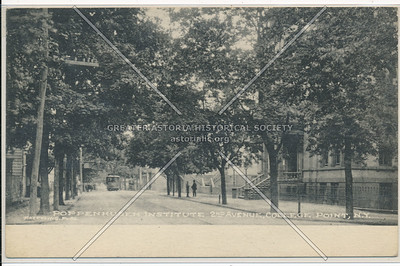 Poppenhusen Institute 2nd Ave (14 Rd), College Point, N.Y.