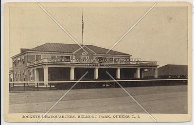 Jockey's Headquarters, Belmont Park, Queens, L.I.