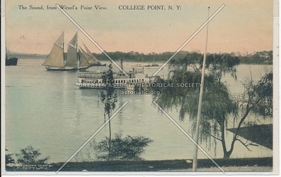 The Sound, from Witzel's Point View, College Point, N.Y.