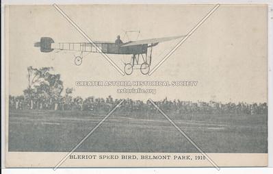 Bleriot Speed Bird, Belmont Park, 1910.