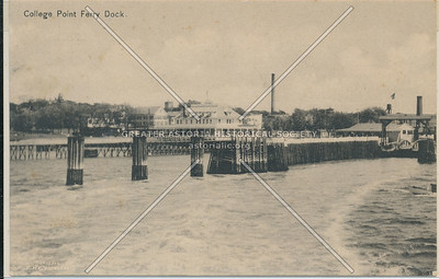 College Point Ferry Dock, L.I.