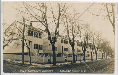 The Eighteen Houses, College Point, N.Y.