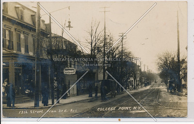 13th St (College Point Blvd) from 3rd Ave (15 Ave)., College Point, N.Y.