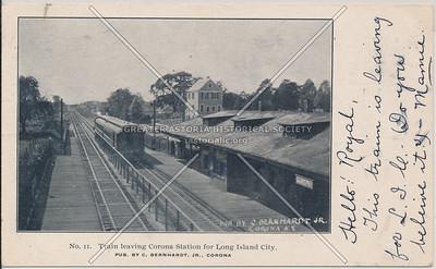 Corona LIRR station