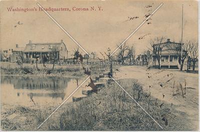 Washington HQ,  Coe's Mill, Colonial Ave.,  Corona