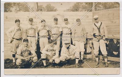 Baseball, Northside Oval, Corona