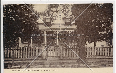 Smith homestead, Corona