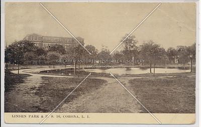 Linden Park, PS 16, Corona