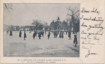 Linden Park pond, Corona
