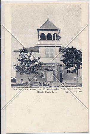 Public School No. 62, Washington Ave (106 St), Morris Park, L.I.