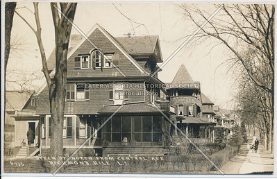 Beech St (120 St)., North from Central Ave (85 Ave)., Richmond Hill, L.I.