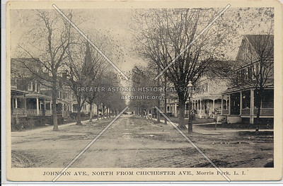 Johnson Ave (118 St)., North from Chichester Ave (95 Ave)., Morris Park, L.I.