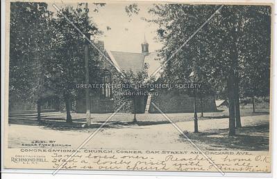 Congregational Church Cor, Oak St (115 St) & Orchard Ave (86 Ave)., Richmond Hill, L.I.
