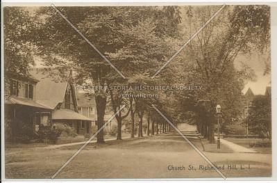 Church St (118 St)., Richmond Hill, L.I.