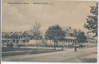 Curtis (124 St) & Beaufort Sts (97 Ave). Morris Park, L.I.