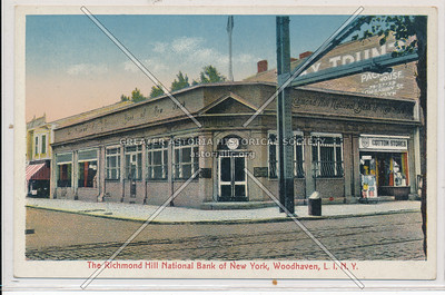 The Richmond Hill National Bank of New York, Woodhaven, L.I.