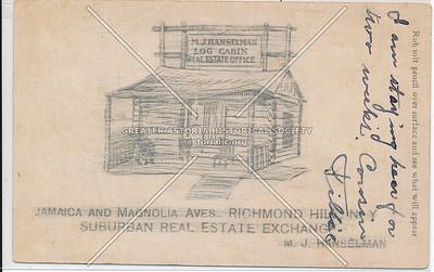 Suburban Real Estate Exchange. Jamaica & Magnolia Aves (134 St)., Richmond Hill, L.I.