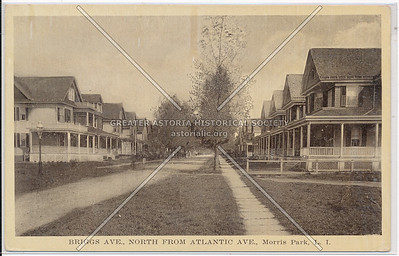 Briggs Ave (117 St)., North from Atlantic Ave., Morris Park, L.I.