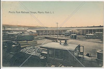 Railroad Shops, Morris Park, L.I.