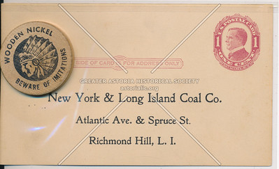 New York & Long Island Coal Co., Atlantic Ave & Spruce St (121 St), Richmond Hill, L.I.