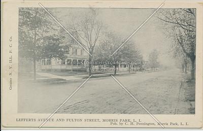 Lefferts Ave & Fulton St (Jamaica Ave), Morris Park, L.I.