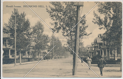 Herald Ave (107 St), Richmond Hill, L.I.