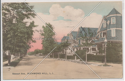 Stewart Ave (89 Ave)., Richmond Hill, L.I.