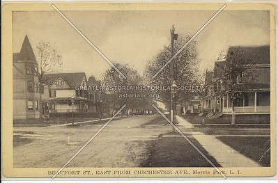 Beaufort St (97 Ave)., East from Chichester Ave (95 Ave)., Morris Park, L.I.