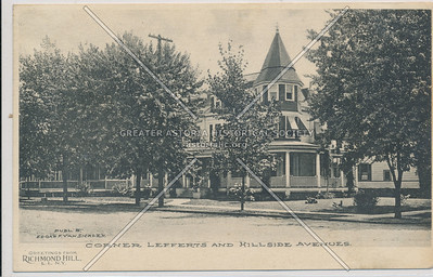 Maple St (113 St), Lefferts & Hillside Aves., Richmond Hill, L.I.