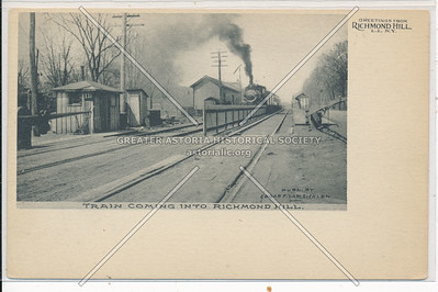 Richmond Hill RR station, L.I.