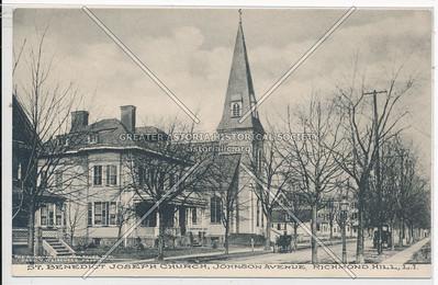 St. Benedict Joseph Church, Johnson Ave (118 St)., Richmond Hill, L.I.