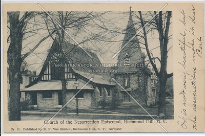 Church of the Resurrection Episcopal, Richmond Hill, L.I.