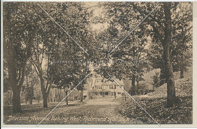 342 Oak St (115 St)., Division Ave (85 Ave) looking West, Richmond Hill, L.I.