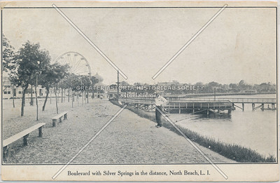 Boulevard with Silver Springs, North Beach, L.I.