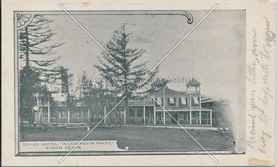 "Tivoli Hotel, ""Sandford's Point"", North Beach, L.I."