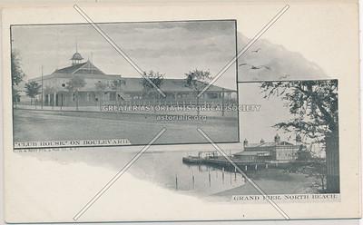 Club House & the Grand Pier, North Beach, L.I.