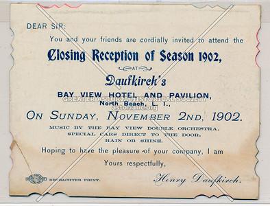 Daufkirch's Bayview Hotel & Pavilion, North Beach, L.I.